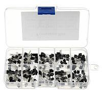 200 штук 10 значений Транзисторный ассортимент Набор Транзисторы Коробка Пакет 20 шт.Каждое значение BC337 BC327 2N2222 2N2907 2N3904 2N3906 S8050