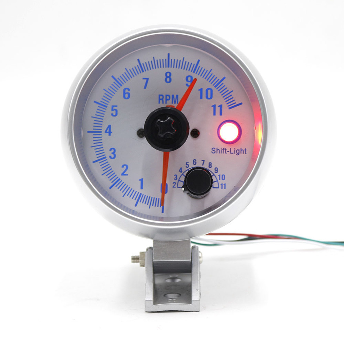 3,5 дюймов Авто LED Светодиодный индикатор тахометра тахометра Шаг Мотор 0-11000 об/мин 1TopShop