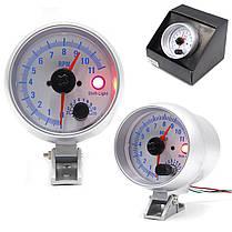 3,5 дюймов Авто LED Светодиодный индикатор тахометра тахометра Шаг Мотор 0-11000 об/мин 1TopShop, фото 3