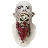 HalloweenPartyДомашнееукрашениеУжасГнилой Кровавый Белый Маска Подставка для подарков Игрушки для детей