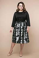 Нарядное женское платье большого размера ДЕНИЗ ТМ Таtiana  54-58  размеры