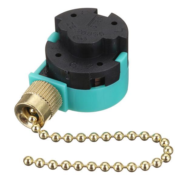 Переключатель сетевого шнура Кулон Кнопочный переключатель Push Pull Switch Green 1TopShop