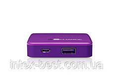 Портативное зарядное устройство TechLink Recharge 2500 Purple, фото 2