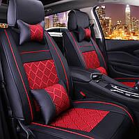Кожа PU Полный объемный Авто Комплект сиденья Комплект передних задних на 5 мест Авто Подушка