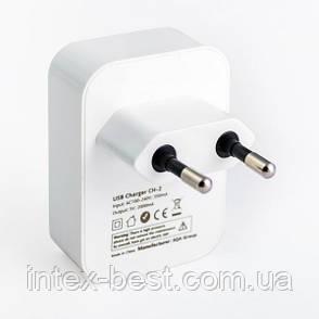 Сетевое зарядное устройство Logan Dual USB Wall Charger, фото 2