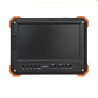 Новый 7 дюймов HD CCTV Tester Монитор Аналоговый HD TVI AHD CVI 4MP 1080P камера Тестер VGA HDMI Вход 12V2A Выход