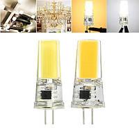 G4 3W COB2508 Чистый белый Теплый белый Светодиодный Лампа AC220V