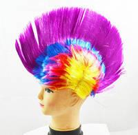 Парик ирокез фиолетовый
