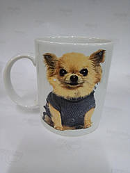 Чашка керамическая символ года с собакой
