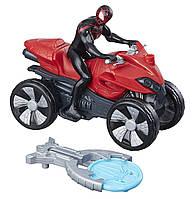 Фигурка человека паука на квадроцикле, Spider-Man Blast 'N Go