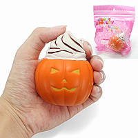Squishy Pumpkin Ice Cream 8cm Soft Медленное восхождение с коллекцией подарков