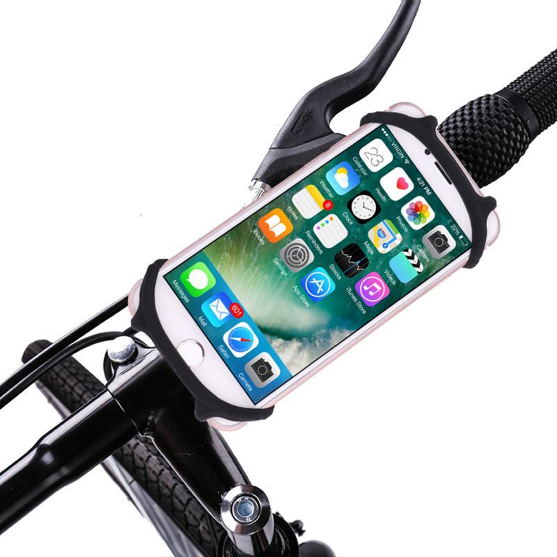 Bakeey ™ Flexible Силиконовый Велосипед мотоцикл Держатель для руля автомобиля для iPhone Samsung 1TopShop
