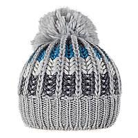 Теплая шапка с бубоном Gem Sport TM Loman, цвет серый, фото 1