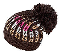 Теплая шапка с бубоном Gem Sport TM Loman, цвет коричневый, фото 1