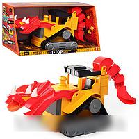 Детская стройтехника динозавр-бульдозер DS 4153