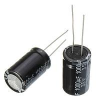 100pcs 35V 1000uF Электролитический конденсатор Low ESR 13 x 20 мм