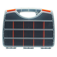 15 Сетки Пластиковый ассортимент Хранение Коробка Большой размер Съемные ремесла Набор Контейнер для деталей Органайзер