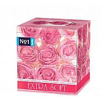 Хустинки Малi троянди косметичнi (80шт) ТМBELLA
