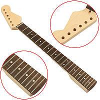 Bass Шея Maple Rosewood Finger Board 21 Fret для замены деталей для джазовой гитары