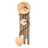5 трубок Ветер куранты Главная Часовня орнамент Windchime подарок Детские игрушки