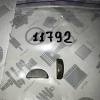 Шпонка 5-9 ГАЗ 53 3307 ВОЛГА УАЗ сегментная шестерни распредвала Шпонка распредвала (5х9х21) (45 9824 0264)