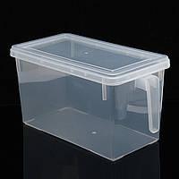 4.7L Кухня Хранение продуктов питания Коробка Загерметизированный холодильник Crisper Органайзер Контейнерное хранение