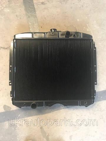 Радиатор ГАЗ 3308 3309 Двиг. ММЗ 245 (2 рядный) (МЕДНЫЙ) (Лихославль ЛРЗ) (теплоотдача +30%) (122.1301010)