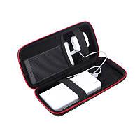 Портативный ударопрочный банк питания Сумка Жесткая застежка-молния Веревка Хранение Коробка для Наушник Смартфон