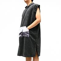 KCASA BT-909 Платье с капюшоном из микрофибры с капюшоном Полотенце для купания Полотенце Lazy Халат Плащ