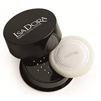 Рассыпчатая пудра для лица 01 Velvet Transparent Perfect Loose Powder IsaDora