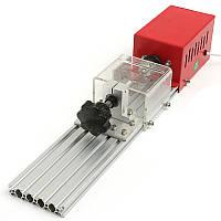 220V 280W Мини-токарный станок для резки металла Деревообработка DIY Токарная обработка Дрель Rotary Инструмент