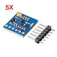 5Pcs MAG3110 Трехосный цифровой земной магнитный полевой геомагнитный Датчик Модуль I²C Интерфейс для Arduino