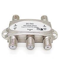 JasenDS-04C4в14x1 DiSEqC Спутники FTA TV LNB Switch