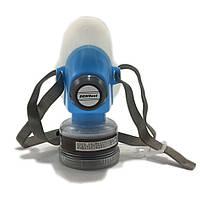 DEWBest 9588 Blue Gas Маска Аварийная защита от дыхания Дыхательный газ Маска Анти Пылезащитный респиратор Маска с 2 двойным фильтром защиты