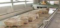 Двух портальная мостовая пила для распила блоков мягких и твердых пород камня