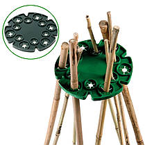 Wigwam Cane Grip Bamboo Climbing Растение Подставка для лотков для виноградных ложек для лозы Пластина 1TopShop, фото 3