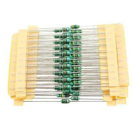 1 / 4W 1UH-1MH 1200 шт. 12 значений 0307 Цветное кольцо Индукторная упаковка Цветовой код Индуктор 100 шт. Каждое значение-1TopShop, фото 2