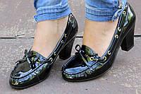 Женские стильные лаковые туфли купить