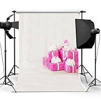 3x5FT Виниловая фотография Фон Детские подарки для дня рождения Backdrop Studio Prop