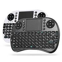 Ipazzport I8 2.4G Беспроводная иврит версия Перезаряжаемая мини-камера Клавиатура Touchpad Airmouse