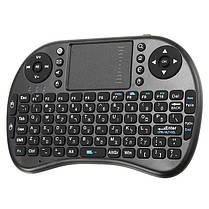 Ipazzport I8 2.4G Беспроводная иврит версия Перезаряжаемая мини-камера Клавиатура Touchpad Airmouse 1TopShop, фото 2