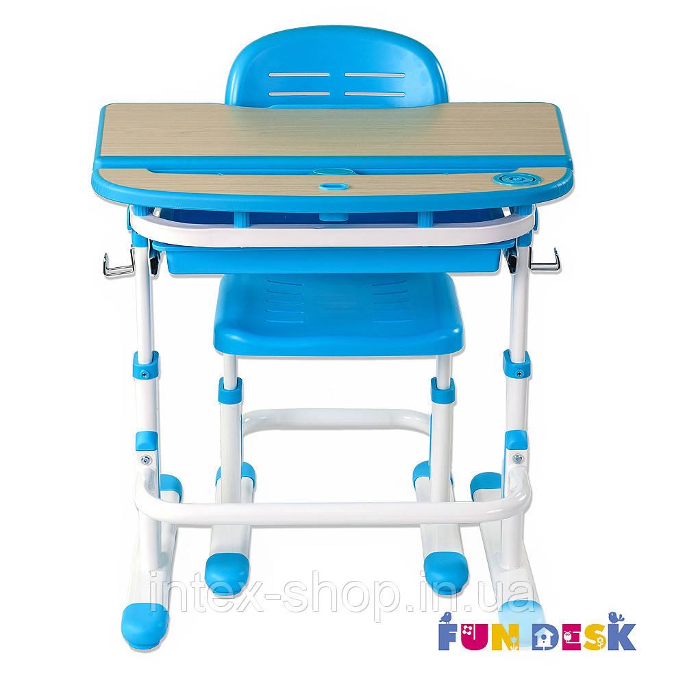 Парта для школяра для будинку FunDesk Sorriso Blue