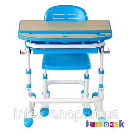 Парта для школяра для будинку FunDesk Sorriso Blue, фото 2