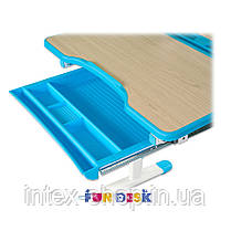 Парта для школяра для будинку FunDesk Sorriso Blue, фото 3