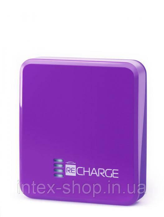 Портативное зарядное устройство TechLink Recharge 2500 Purple