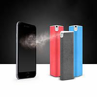 Емкость30млУниверсальныйпортативный2 в 1 очиститель экрана с очищающим очищающим средством для мобильного телефона