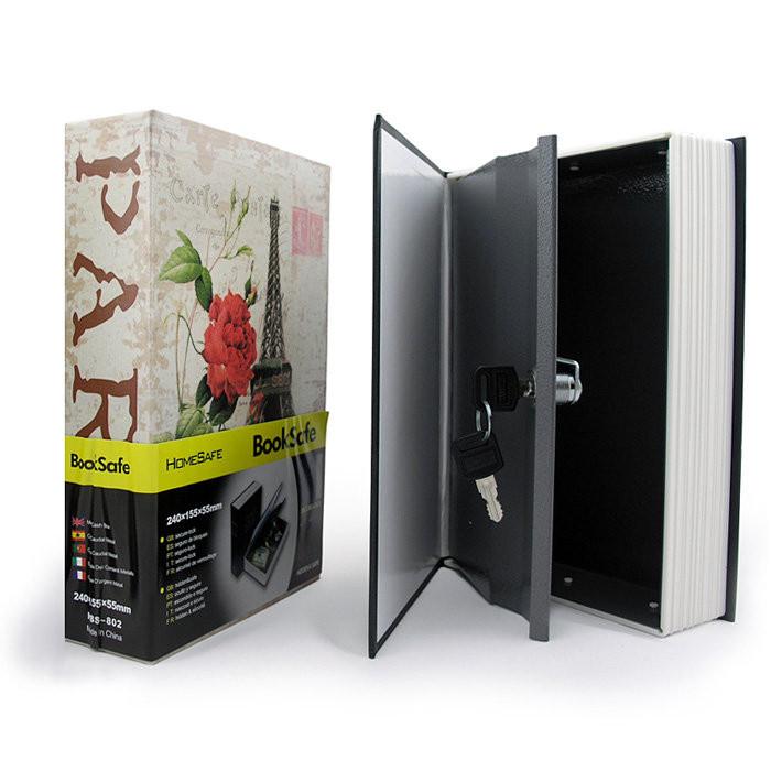 Книга - сейф Париж (мини)