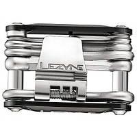 Мультитул Lezyne RAP - 14, черный, алюминиевые ручки, биты из нержавеющей стали, выжимка цепи