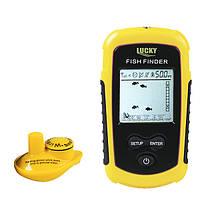 ВезучийFFW1108-1Тревожныйсонар40M/ 130FT Глубина Беспроводной поисковый прибор Sea Lake Рыбалка Инструмент