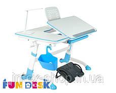 Парта-трансформер для школьника FunDesk Amare Blue, фото 3